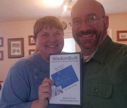 Jeff & Barb Hall Pic Holding WisdomBuilt