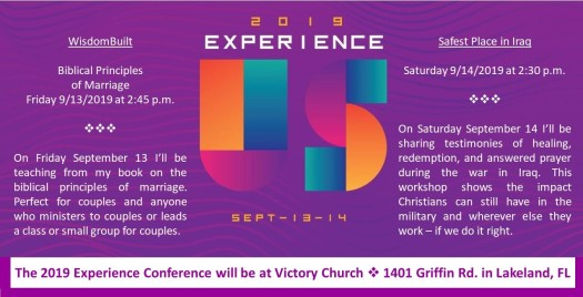 Experience Conference September 2019